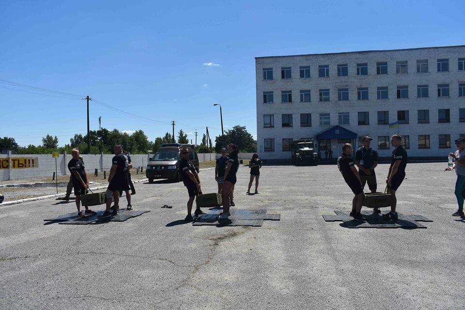 Житомирские десантники на чемпионате по кроссфиту