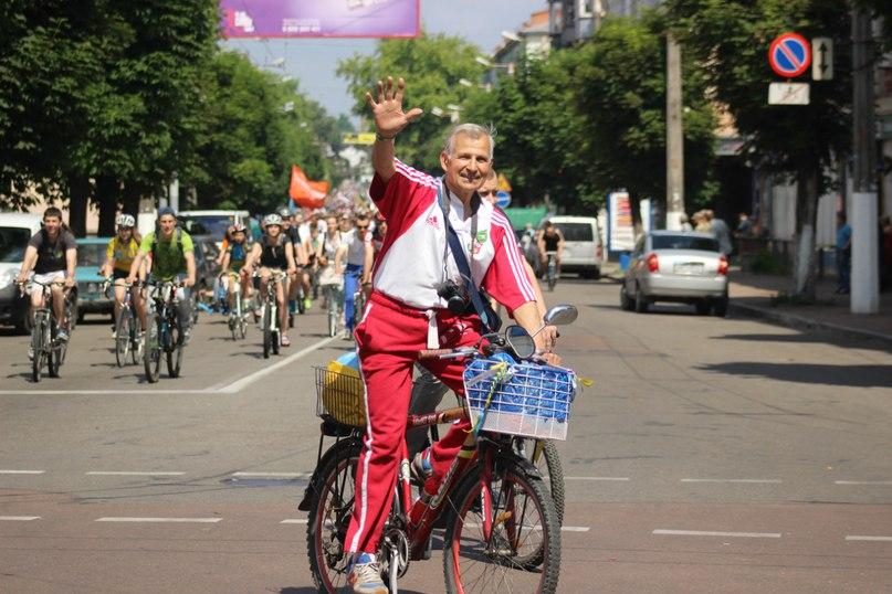 Велодень в Житомире 2016 фото