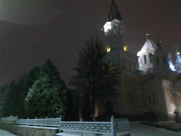 Житомир завалило снегом