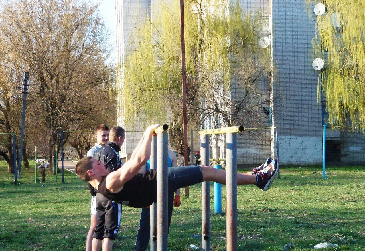Житомирские спортсмены-любители тренируются перед «Workout Fest». ФОТО